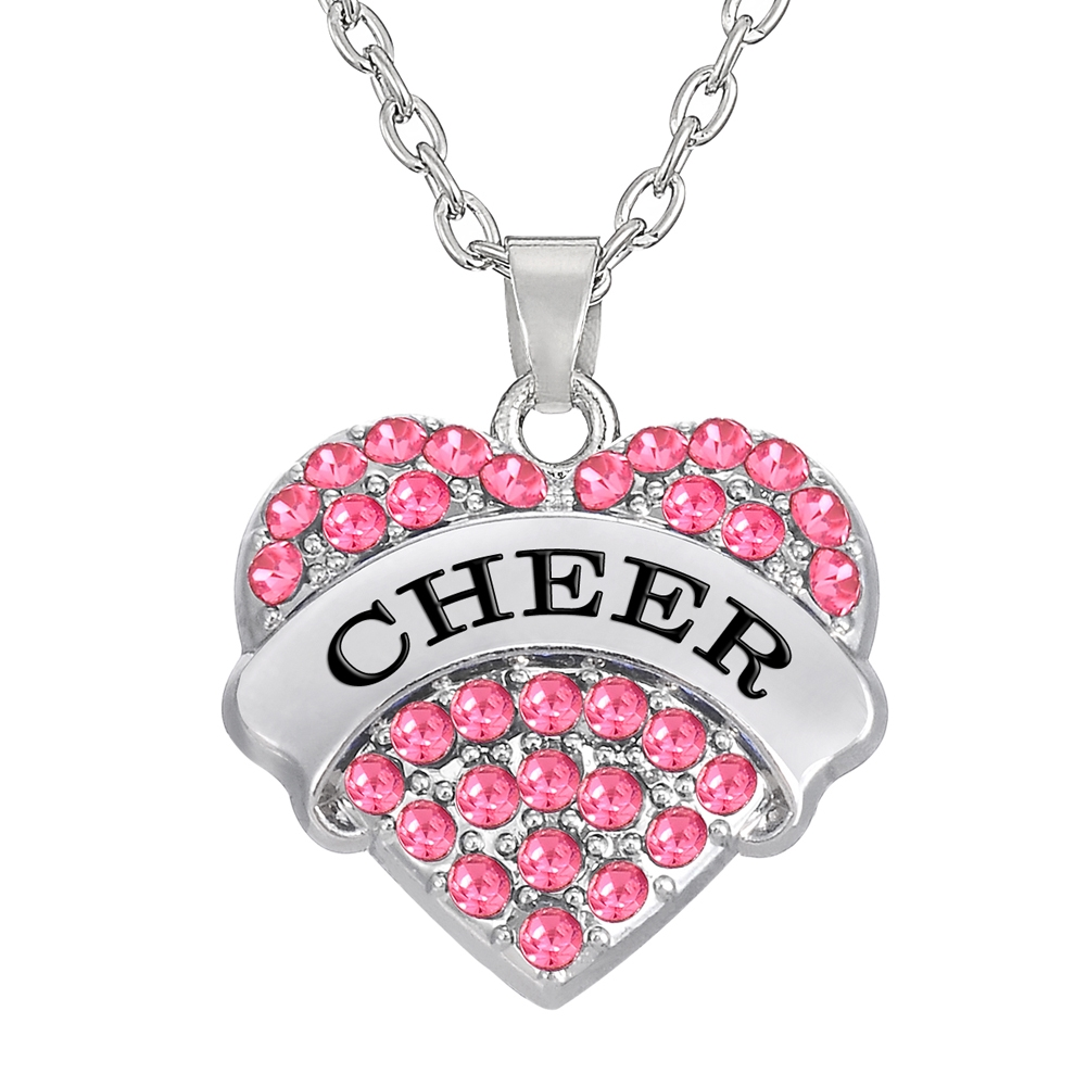 Cheer Herz Kette - Pink