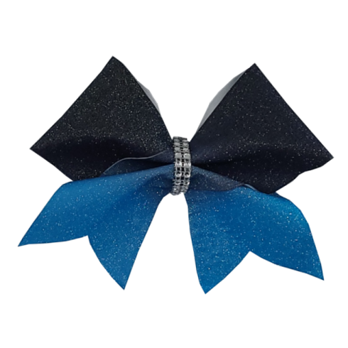 Black to Blue Glitter