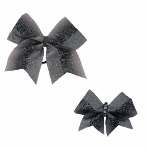 Bow Set Glitter Power Silver