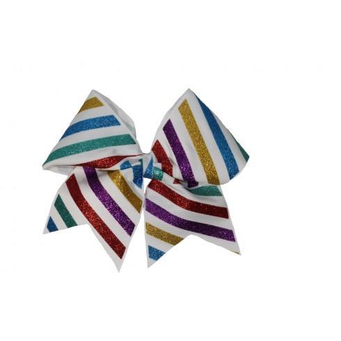 Glitter stripes