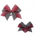 Bow Set Glitter Power Pink