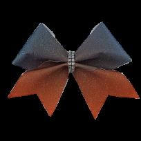Black to Orange Glitter