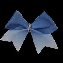 Blue to White Glitter