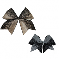 Bow Set Glitter Power Black