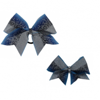 Bow Set Glitter Power Blue