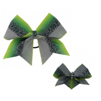 Bow Set Glitter Power Green