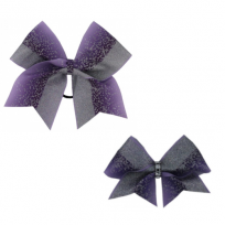 Bow Set Glitter Power Purple