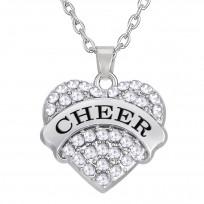 Cheer Herz Kette - Silber