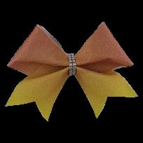 Orange to Yellow Glitter