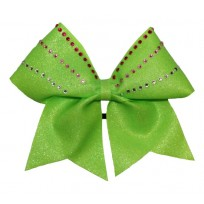 Sparkle neon green with strass
