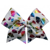 Rainbow Bows White