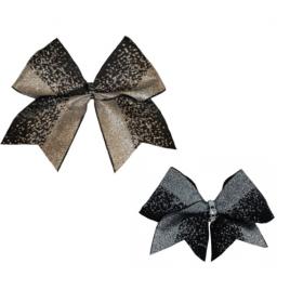 Bow Set Glitter Power Black - Haarschleife und Anhänger