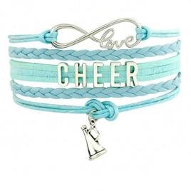 Cheer Armband hellblau