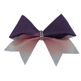 Purple to White Glitter