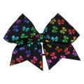 Rainbow Bows Black